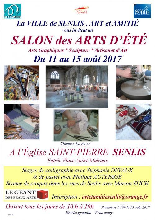 Salon des art d'été Senlis 2017 Atelier Badeuil