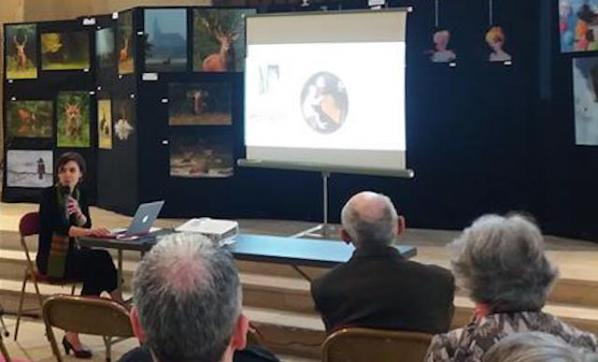 Conférence restauration tableaux atelier badeuil