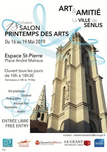 Atelier Badeuil Salon Printemps de Arts Senlis 2019