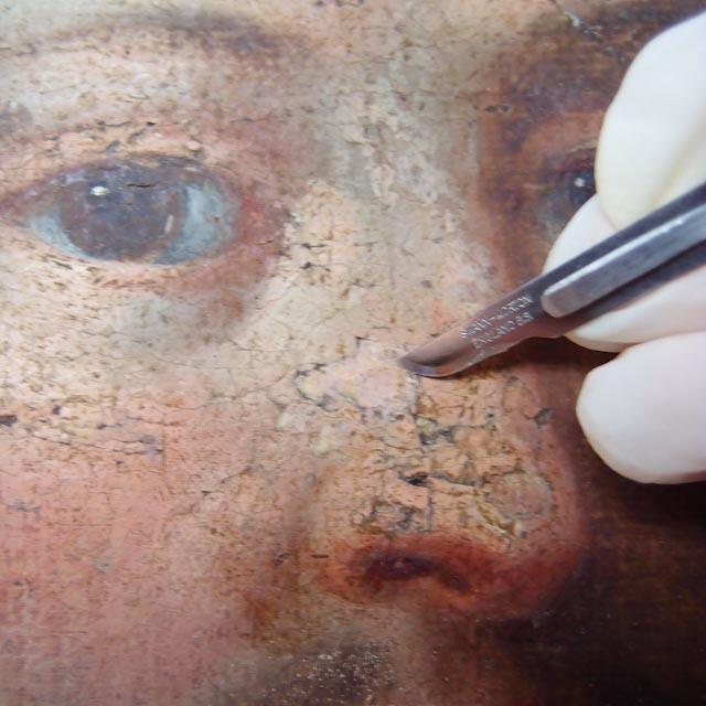 Atelier Badeuil Restauration de tableaux Oise