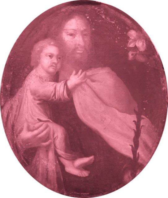 Tableau Saint Joseph sous IR