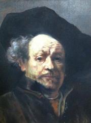 Copie Portrait Rembrandt par S. Badeuil