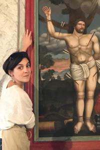 Sandrine Badeuil Restauratrice de tableaux