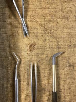 Fil à fil Restauration de tableaux Atelier Badeuil